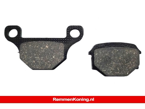 EBC Remblok Set Type FA093 Organisch Scooter o.a. Aprilia RS4 (Achter) / Motorhispania RX50R (Achter) / Rieju MRT Pro (Achter) / TGB 101/202/409/Corona (Voor)