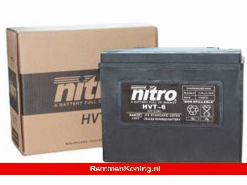 Nitro Accu HVT 06 Gevuld en Gesloten