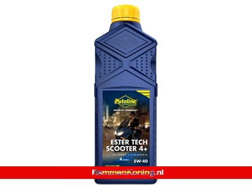 Putoline Ester Tech Scooter 5W40 Fles 1L