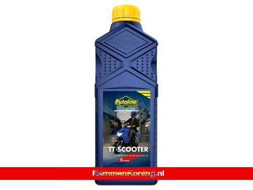 Putoline TT Scooter 2T Olie Semi Synthetisch Fles 1L