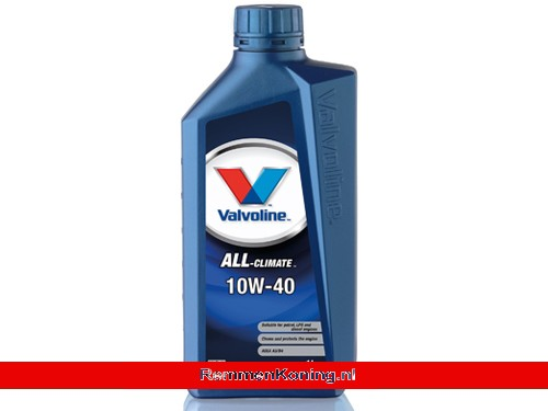 Valvoline All Climate 4T 10W40 Fles 1L