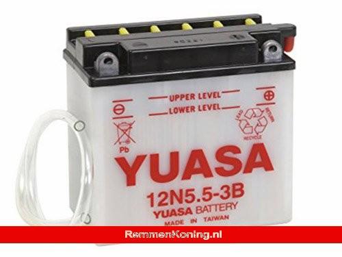 Yuasa Accu 12N5.5-3B