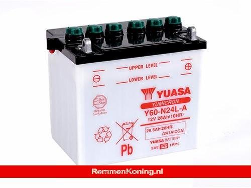 Yuasa Accu Y60-N24L-A