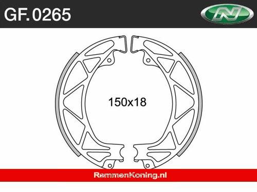 Newfren Remsegment Set Type GF0265